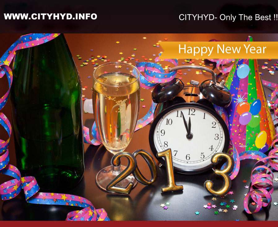 Happy New Year Hyderabad