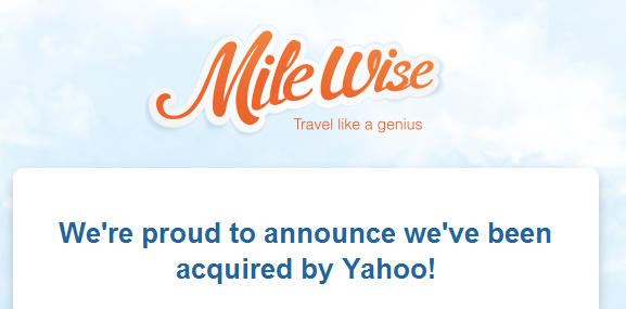 Yahoo Bought Milewise