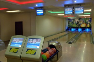 Bowling in Lahari Resort